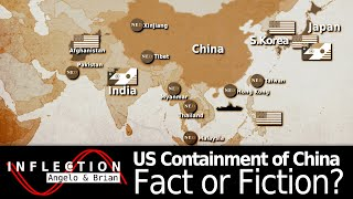 US hegemony - in south and central America, and the encirclement / 'containment' of China