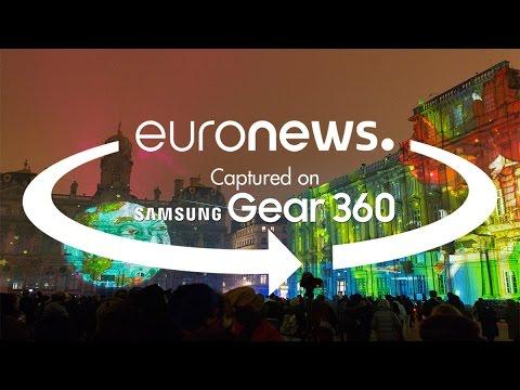 Γαλλία: Πάρτε μια γεύση από τη  «Γιορτή του φωτός» στη Λυών (βίντεο 360 °)