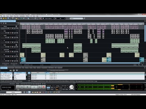 MAGIX Samplitude Music Studio 2016 – Introductory video tutorial (INT)
