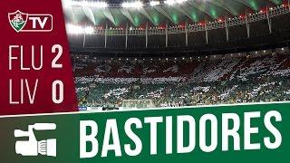 Bastidores de Fluminense e Liverpool do Uruguai