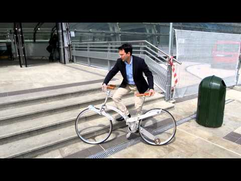 The Sada Bike the Hubless Foldable Sada Bike
