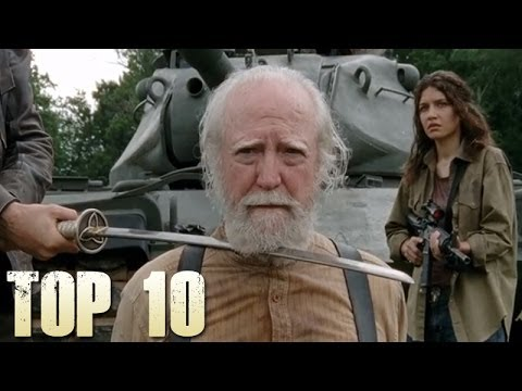 top 10 - The Walking Dead - Top 10 Greatest Moments In this video we will be counting down the top 10 absolute greatest moments of the walking dead television series ...