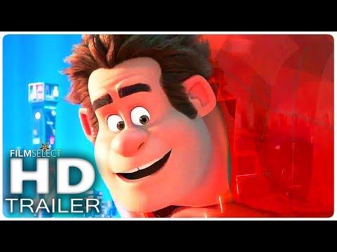 WRECK IT RALPH 2: Ralph Breaks The Internet Official Trailer (2018)