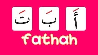 Belajar alifbata abata Hijaiyah Fathah   Learning arabic alphabet Hijaiyah Fathah
