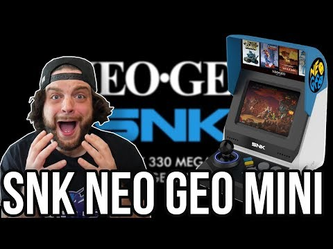 SNK NEO GEO MINI IS AWESOME - Full Games and Specs! | RGT 85