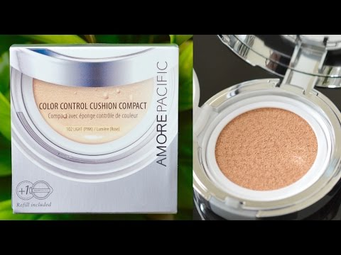 Video AMOREPACIFIC Color Control Cushion Compact | First Impressions & Review download in MP3, 3GP, MP4, WEBM, AVI, FLV January 2017