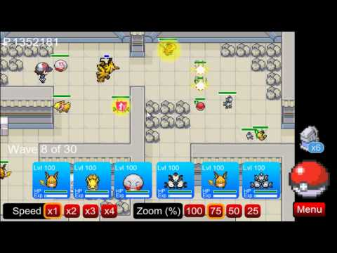 (PTD) Pokemon Tower Defence part 75 - How to get Zapdos