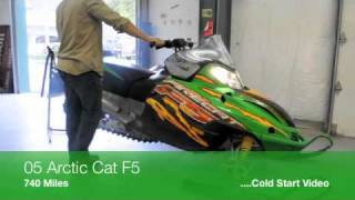 2. 2005 Arctic Cat F5 for sale