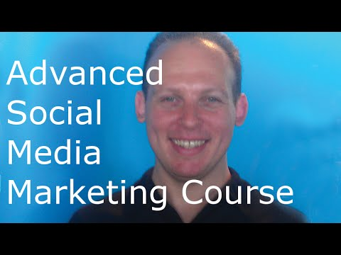 Advanced social media marketing training course with advanced social media marketing strategies