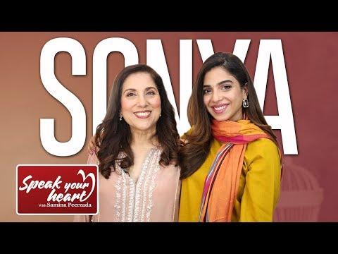 Sonya Hussyn On  Speak Your Heart WIth Samina Peerzada | Part I