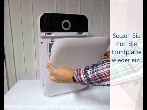 hepa luftreiniger alfda alr 300 comfort mit  PM 2.5 Partikelsensor