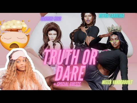 SECOND LIFE Truth or Dare ft Carmen King & Reyna