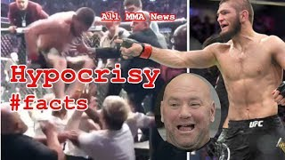 Video Khabib Nurmagomedov vs. Conor McGregor - #facts HYPOCRISY in the UFC MP3, 3GP, MP4, WEBM, AVI, FLV Mei 2019