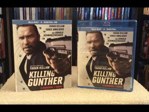 Killing Gunther BLU RAY UNBOXING + Review - Arnold Schwarzenegger