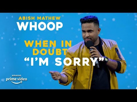 "When In Doubt, ""I'm Sorry"" 