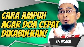 Video Cara Ampuh Berdoa Ketika Shalat Agar Cepat Dikabulkan! Ustadz Adi Hidayat, Lc., MA Terbaru MP3, 3GP, MP4, WEBM, AVI, FLV November 2018