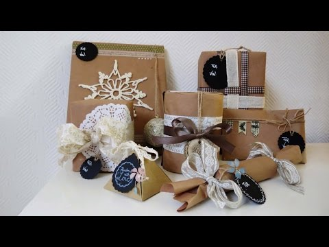 geschenke verpacken einfache ideen ideen blog. Black Bedroom Furniture Sets. Home Design Ideas