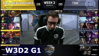 Video Golden Guardians vs TSM | Week 3 Day 2 S8 NA LCS Summer 2018 | GGS vs TSM W3D2 MP3, 3GP, MP4, WEBM, AVI, FLV Agustus 2018