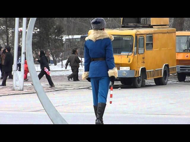 Nữ cảnh sát giao thông của Triều Tiên