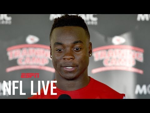 Former Chiefs WR Jeremy Maclin Surprised By Release From Team  NFL Live  ESPN