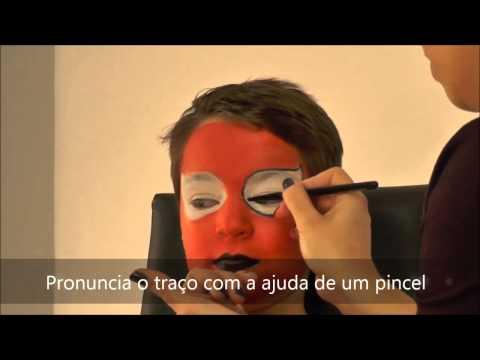 Tutorial make-up de Spiderman