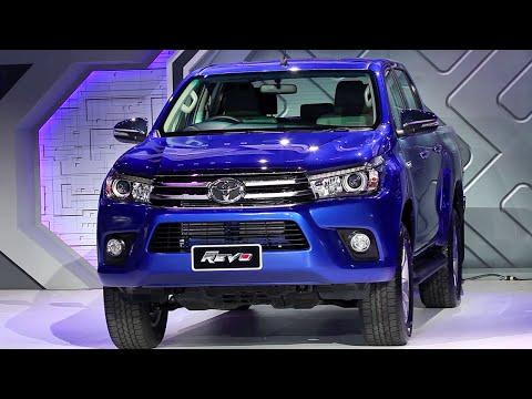 2015 Toyota Hilux Revo мировая премьера!