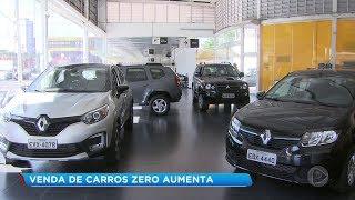 Vendas de veículos novos crescem 10 % no país em setembro