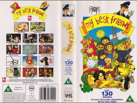 My Best Friends (1993 UK VHS)