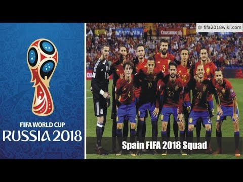 Spain Final Squad / Roster For FIFA 2018 World Cup