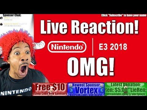 Nintendo E3 Direct Presentation Live Reaction