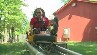 Jason DeRusha and Matt Brickman go soaring through the trees above Duluth at Spirit Mountain's Adventure Park! (3:21) WCCO 4 News At 10 – July 27, 2017