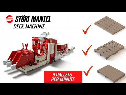 Störi Mantel Deck Machine - 9 kusů za minutu?!