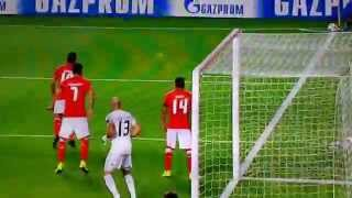 Benfica Lissabon - Zenit St. Petersburg 0:2 Goal Axel Witsel // Champions League 16/09/2014