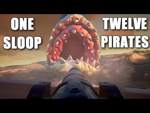 Sea Of Thieves - The Best Megalodon Moments Ever!