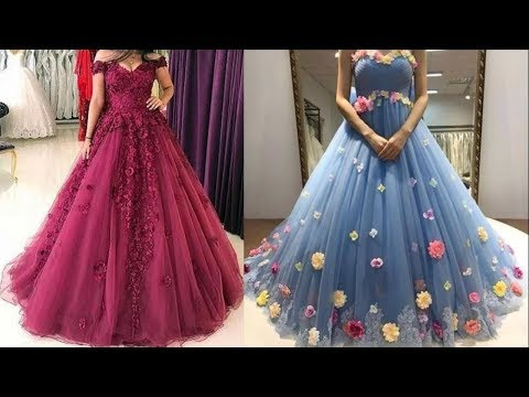 Party Wear Dresses Design collection for women  Long Gown Dress Picture 2018  Prom dress images