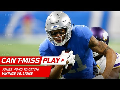 Video: Marvin Jones Does His Best Moss Impression & Burns 2 Defenders for TD! | Can't-Miss Play | NFL Wk 12