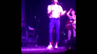 Nate Ruess Throwing A Fit.