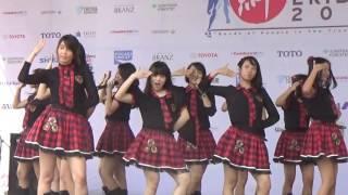 Video [SHNJ Cam] JKT48 - Kiboteki Reffrain [Kizuna Ekiden 2016] MP3, 3GP, MP4, WEBM, AVI, FLV Desember 2018