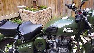 8. Royal Enfield Classic 500 green review