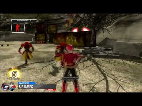 power rangers super samurai xbox 360 gameplay montage
