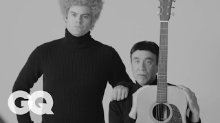 Video Fred Armisen and Bill Hader Tell the Very True History of Simon and Garfunkel | GQ MP3, 3GP, MP4, WEBM, AVI, FLV Januari 2018