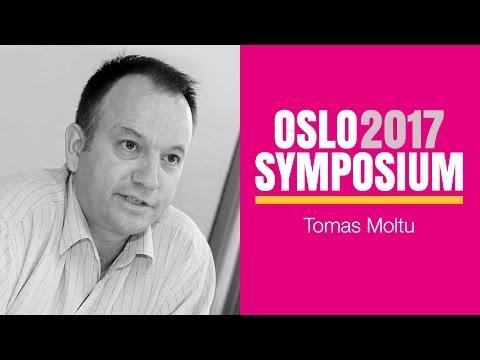Tomas Moltus tale på Oslo Symposium 2017