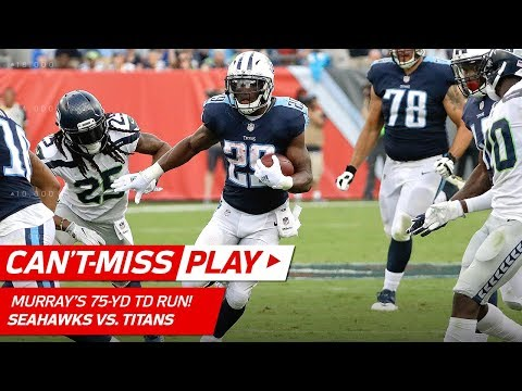 Video: DeMarco Murray Weaves Through Seattle's Defense for 75-Yd TD Run! | Can't-Miss Play | NFL Wk 3