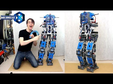 Building Robot X #4 | Electronics & First Tests | James Bruton