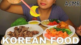 ASMR: Korean Bulgogi and Banchan *Cooking and Eating Sounds*