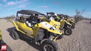 7. Yamaha YXZ1000R (2016) : Essai du SSV avec Stéphane Peterhansel en Californie