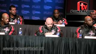 mr olympia 2013 Mr. Olympia 2013 - Press Conference