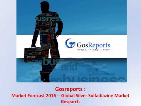 Market Forecast 2016--Global Silver Sulfadiazine Market Research