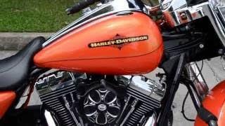 8. 2012 Harley-Davidson® Road King® Classic Tequila Sunrise and H-D Orange