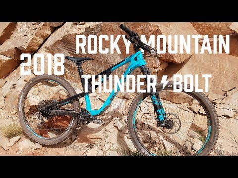 2018 Rocky Mountain Thunderbolt Test Ride & Review